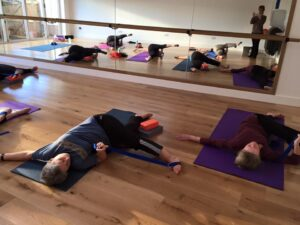 Diversity Yoga rehab for legs and lower back
