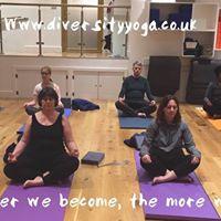 Yoga Farnham Diversity Cathy RIchardson