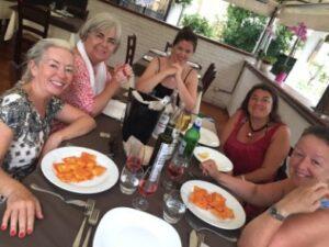 Diveristy Yoga Italian retreat food