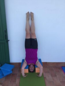 Diversity Yoga retreat Sirsasana headstand