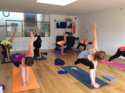 More challenging Hatha yoga in Farnborough