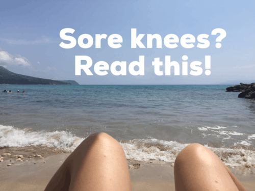 Diversity Yoga tips for sore knees